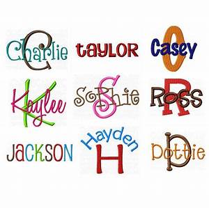 53 best fonts images on pinterest embroidery fonts With best embroidery software for lettering