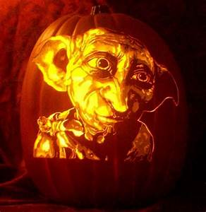 harry potter pumpkin carving templates - artist carves portraits of famous pop culture characters