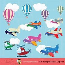 Air Transportation Clipart Air Planes Clip Art Air Vehicles