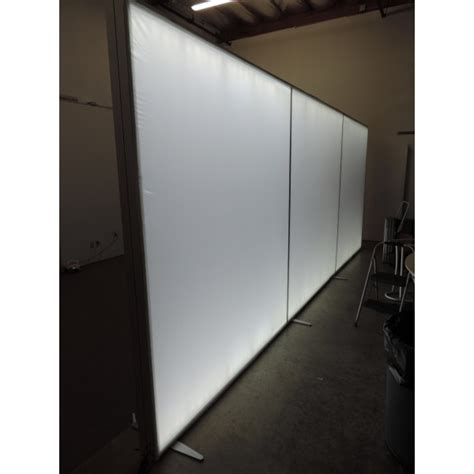 240 quot 96 quot 20ft modular lightbox backlit trade show display