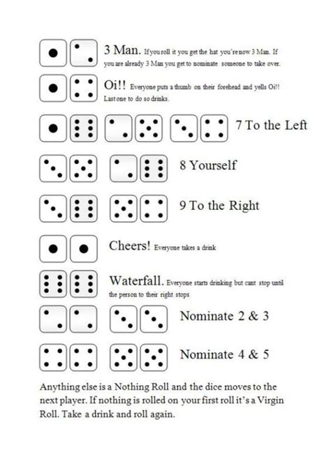 Maybe you would like to learn more about one of these? Three Man - Dice Drinking Game, Rules and How to Play - HubPages