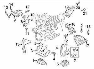 Chevrolet Impala Bolt  Alternator  Bracket  3 8 Liter  3 8