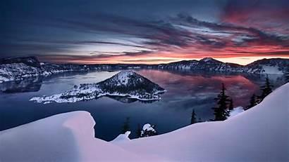 Lake Crater Wallpapers Desktop Oregon Windows Hq