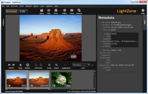 photo editor lightzone image editing software re released as free and Light