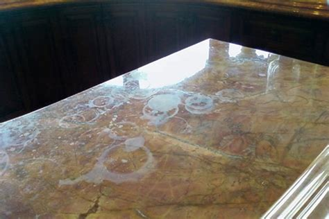 cleaning marble work surfaces for crafts