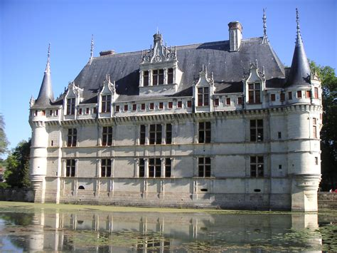 azay le rideau castle 1518 1527 architecture europe the list