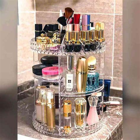 Rak Kosmetik Shopee rak kosmetik putar acrylic organizer cosmetic display