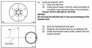 Flywheel Bolt Torque Spec