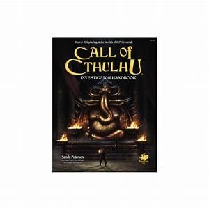 Call Of Cthulhu Rpg 7th Ed Investigators Handbook  Hc