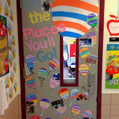 Oh The Places You Ll Go Decorations - oh the places you ll go door decoration teaching ideas