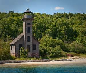 East Channel Lighthouse Munising Michigan