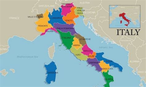 top   regions  italy