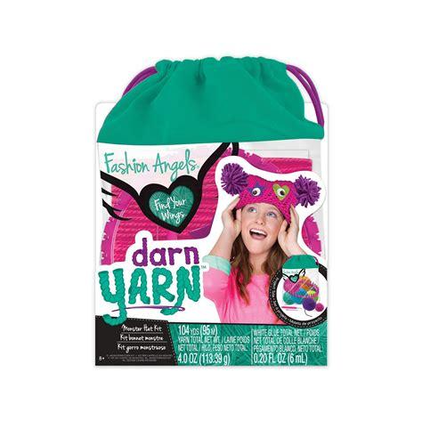fashion angels darn yarn monster hat kit monster hat