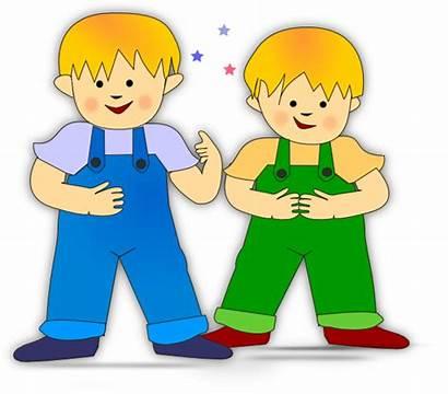 Clip Clipart Children Svg Sweet Boys Clker