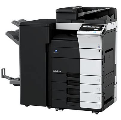 With its silent and reliable operation paired with solid. (Download Driver) Konica Minolta Bizhub 458 Driver ...