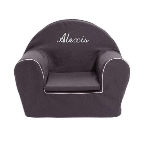 fauteuil club enfant fauteuil club enfant gris anthracite ma chaise