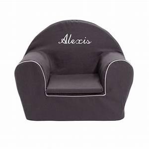 Petit Fauteuil Pour Enfant : fauteuil club enfant gris anthracite ma petite chaise ~ Teatrodelosmanantiales.com Idées de Décoration