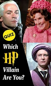 Hogwarts Quiz: Which Harry Potter Villain Are You? - Quiz ...