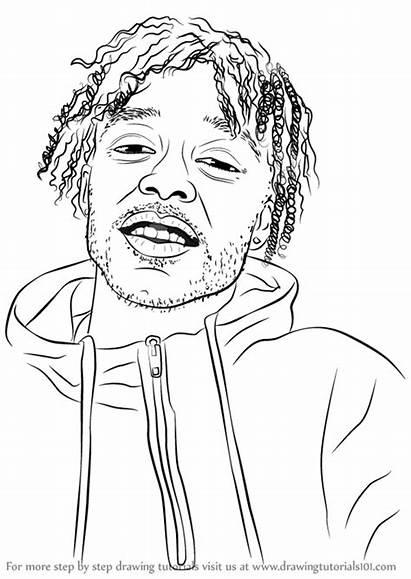 Step Uzi Lil Vert Rappers Drawing Draw