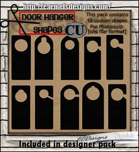 door hangers With door hanger template photoshop