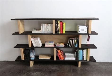 ideas  plywood bookcases