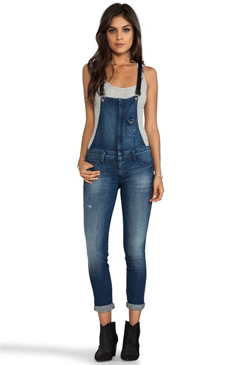 Frankie b. jeans Hipster Overall with Leather Strap in ...