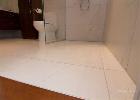 custom linear drain ceramiques hugo sanchez