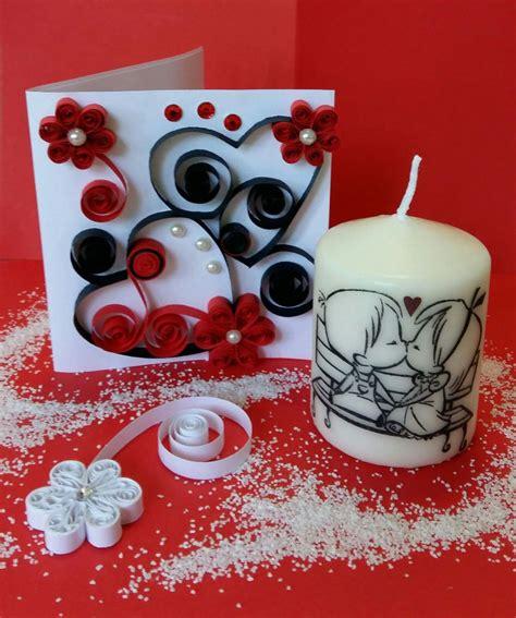 candele san valentino candela biglietto san valentino feste idee regalo di