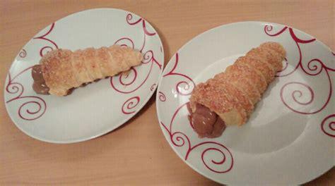 la cuisine de tous les jours cônes à la crème de nutella une cuisine simple de tous
