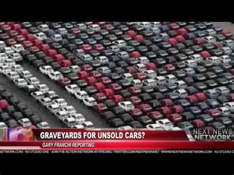 graveyards  unsold cars youtube