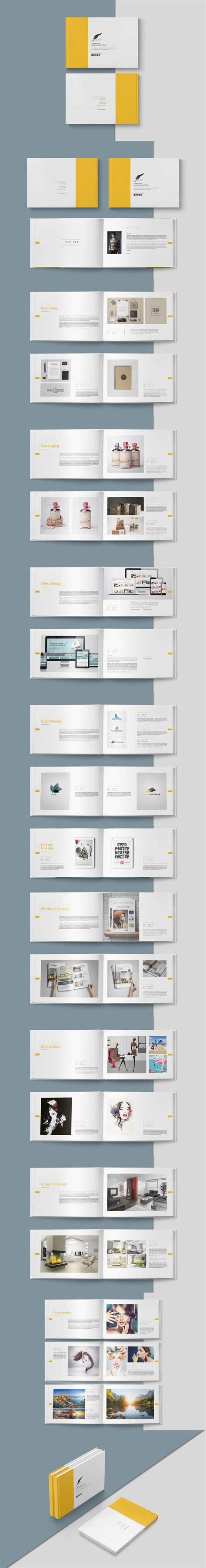 template plaquette indesign graphic design portfolio brochure template indesign indd
