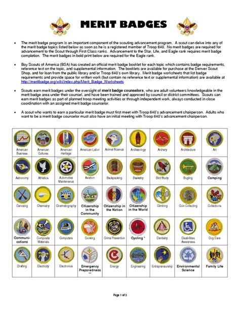 Boy Scout merit badges   DIY Crafts   Pinterest   Merit ...