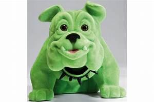 Statue Chien Design : figurine kare design chien bouledogue assis vert statue design pas cher ~ Teatrodelosmanantiales.com Idées de Décoration