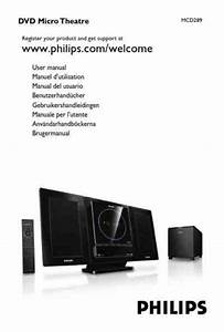 Philips Mcd289 Home Theater Download Manual For Free Now