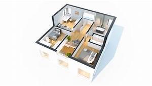 Hausbau Wann Küche Planen : grundriss einfamilienhaus 3d ~ Lizthompson.info Haus und Dekorationen