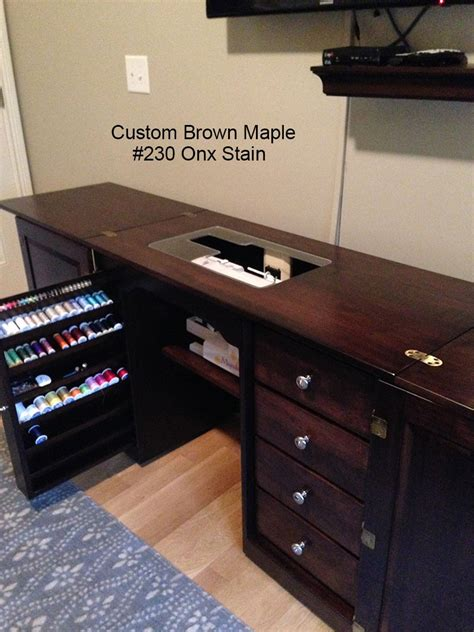 Custom Sewing Machine Cabinets by Amish Furniture Classic Sewing Machine Cabinet Sewing