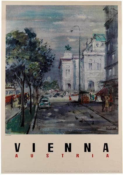 vintage vienna austria travel poster vintagraph prints