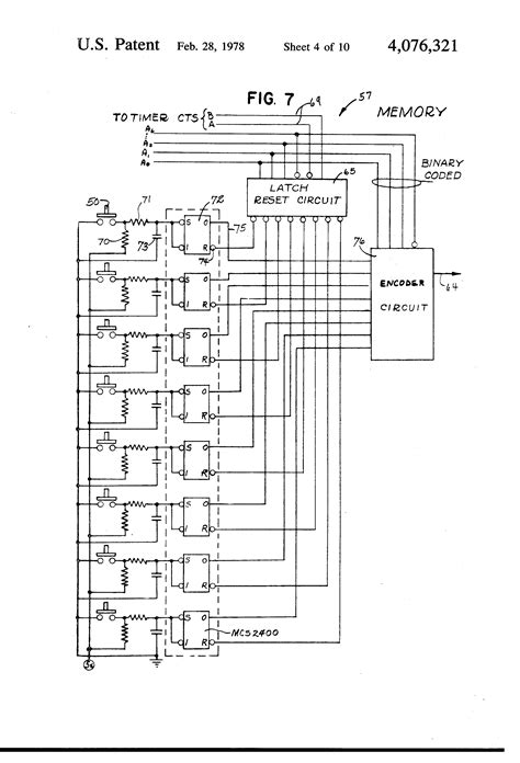 Patent US4076321 - Electronic control system for operating