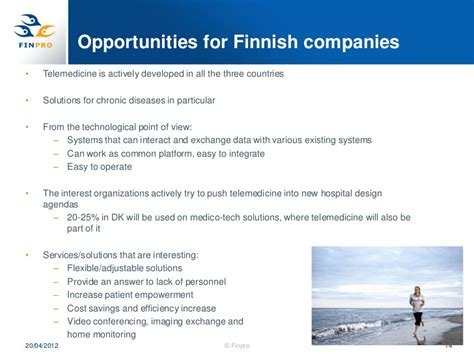 Opportunities In Scandinavian Countries by Telemedicine In The Scandinavian Countries