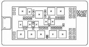 06  07  08 Mustang Fuse Box Diagram