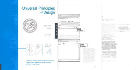universal principles of design the 10 best ux design books