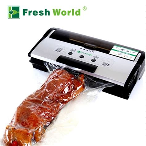 commercial  vacuum food sealer machine continuous inflatable automatic electric food packing
