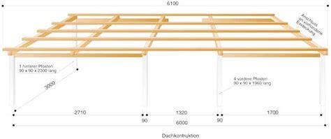 Terrassendach Selber Bauen Holz by Terrassendach Unterkonstruktion Holz Bvrao