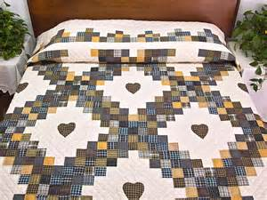 Triple Irish Chain Quilt