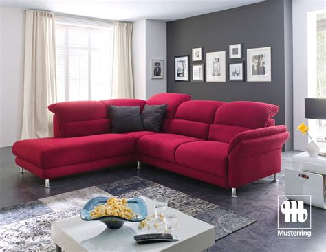 Musterring Shop by Musterring Mr 390 Sofa In Stoff Rot Jetzt Bestellen