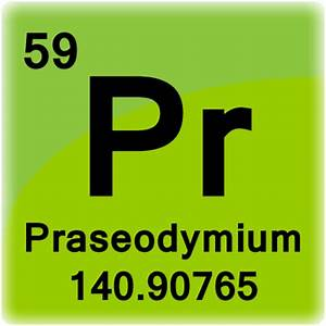 Praseodymium Element Cell - Science Notes and Projects