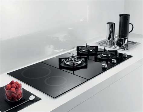 Induction Hob & Gas Hob - Contemporary - Kitchen