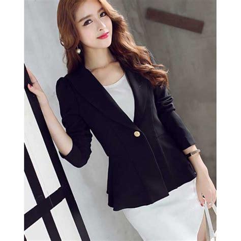 model blazer wanita  trendi  anggun ragam fashion