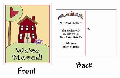 Address Change Moved Clip Clipart Ve Cards