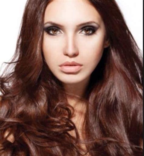 beautiful warm brown hair color beauty pinterest